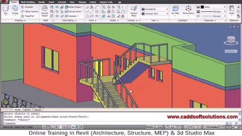 3d Home Design Tutorial Pdf by Autocad 3d House Modeling Tutorial 8 3d Home 3d