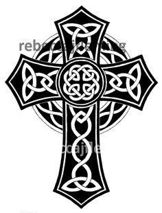 Free Celtic Clip Art | Celtic Cross image - vector clip art online, royalty free & public