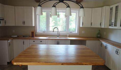 comptoir de cuisine en bois comptoir bois cuisine myqto com