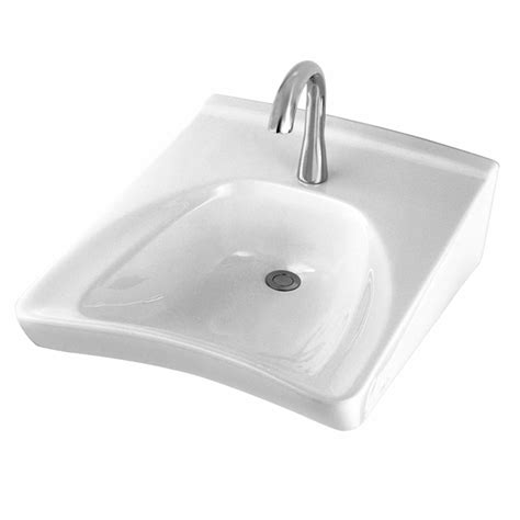 toto wall hung sink toto lt308 01 wheelchair lavatory