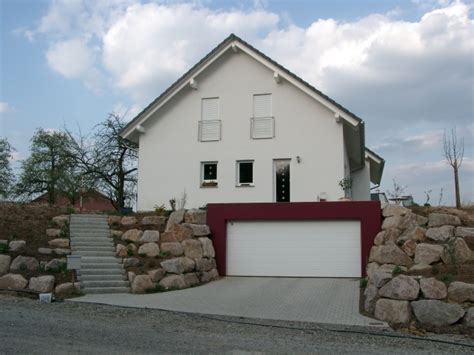 Stadtvilla Mit Seitlicher Garage by Haus Mit Garage Bauen Beautiful Garage Carport Dach