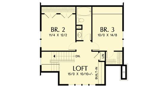 open loft house plans bungalow with open floor plan loft 69541am architectural designs house plans