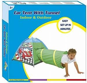 Spielzelt Für Kinder : spielzelt kinder f r junge cars auto mit tunnel spielhaus ~ Whattoseeinmadrid.com Haus und Dekorationen