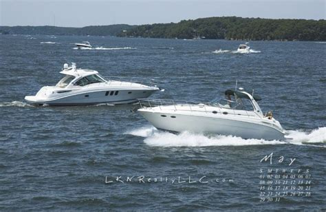 Lake Norman Boating by Lake Norman Real Estate S May 2011 Wallpaper Calender Is