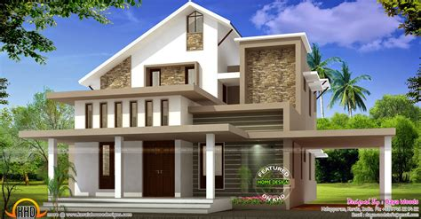 1 bedroom floor plans low budget semi contemporary home kerala home design and
