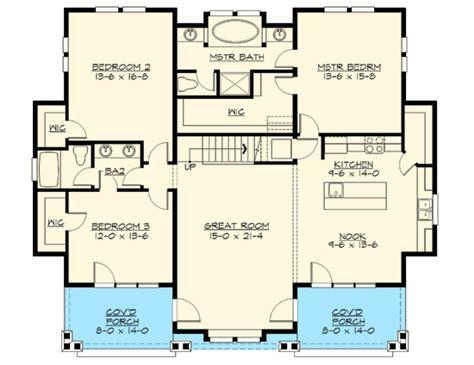 Home Design Level 42 : 3 Bedroom Rambler Floor Plans