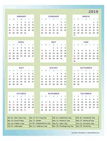yearly calendar printable annual calendar templates
