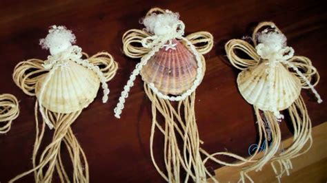 arts  crafts tutorial    seashell fairy