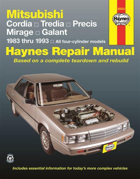 automotive air conditioning repair 1988 mitsubishi cordia engine control mitsubishi cordia tredia galant precis mirage 83 93 haynes repair manual haynes manuals