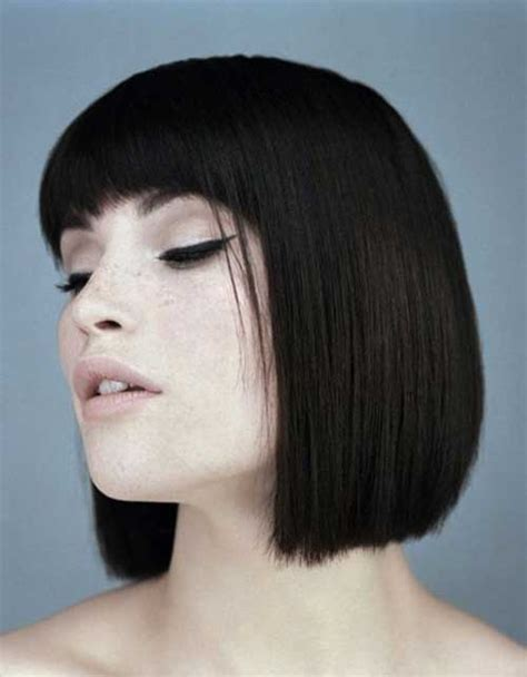 great short blunt haircuts short hairstyles