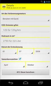 Steuer Kfz Berechnen : kfz steuer rechner pro android apps on google play ~ Themetempest.com Abrechnung