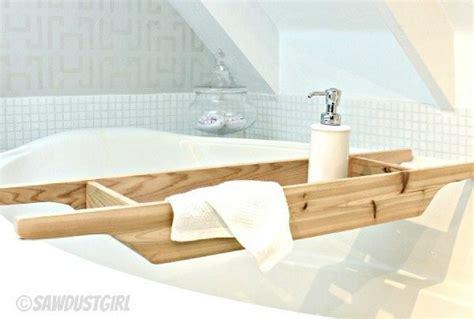 diy tub plans diy gift ideas cedar bathtub caddy sawdust girl 174