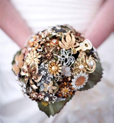 bridal bouquet ideas 46 steunk wedding bouquets happywedd