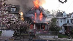 Paterson Nj Fire Department Operates At A 3rd Alarm Fire