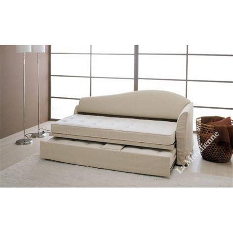 lit gigogne canapé lit gigogne la meridienne décoration