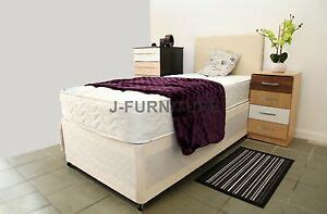 Cheap Leather Headboards by Cheap Single Divan Bed Choose Faux Leather Headboard And