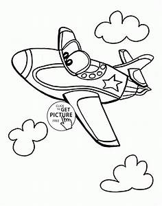 jet coloring pages - funny jet plane coloring page for kids transportation