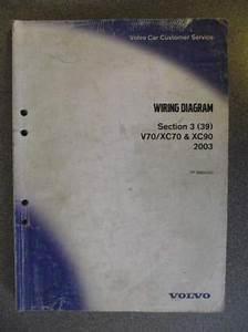 Volvo Vx70 Xc70 Xc90 Wiring Diagrams Manual 2003 Tp3964032