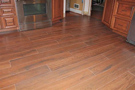 wood tile floor kitchen  jersey custom tile