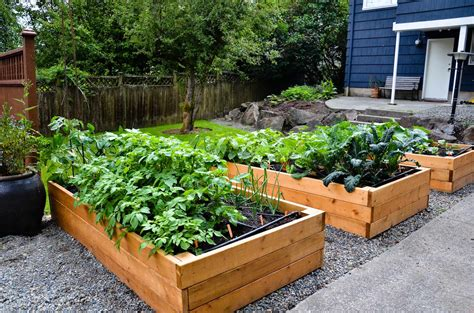Garden Profile Raised Beds After Planting #2053 Latest