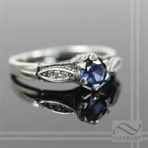 antique sapphire engagement rings vintage style sapphire and engagement ring by mooredesign13 on deviantart