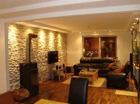 flur mediterran gestalten mediterrane wandgestaltung im wohnzimmer mit kunststeinpaneele