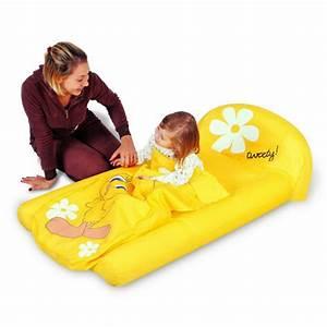 Lit D Appoint Gonflable : lit d 39 appoint gonflable pour enfant partir de 2 ans ~ Melissatoandfro.com Idées de Décoration