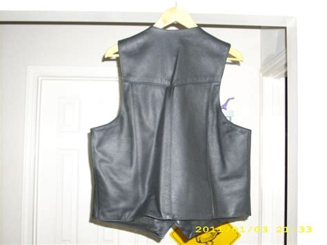 Fox Creek Concealed Carry Pocket Vest And Harley Davidson