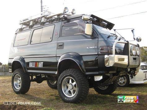 Mitsubishi L300 Modification by 17 Best Images About Delica On Bristol