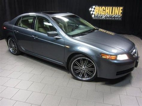 sell used 2006 acura tl with navigation special 19 alloy