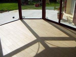 carrelage imitation parquet bois pour l39interieur d39une With parquet pour veranda