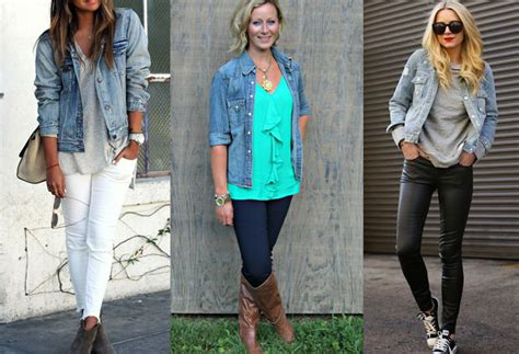 12 Cute Jean Jacket Outfits What to Wear with This Thing?   Fashion Rules