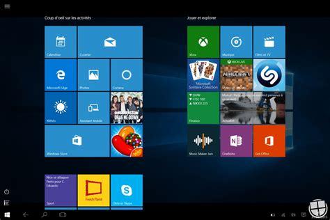 windows 8 mode bureau windows 10 analyse du nouveau quot mode tablette quot monwindows