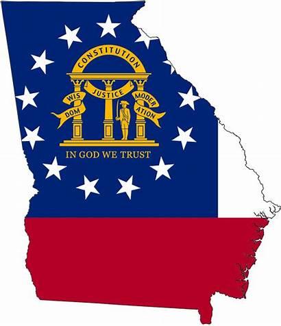 Georgia State Flag Map Svg Wikipedia Peach