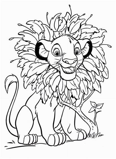 Coloring Pages Simba Printable