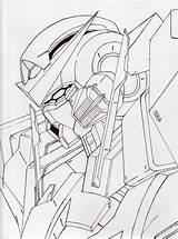 Gundam Exia Drawing Getdrawings Deviantart sketch template