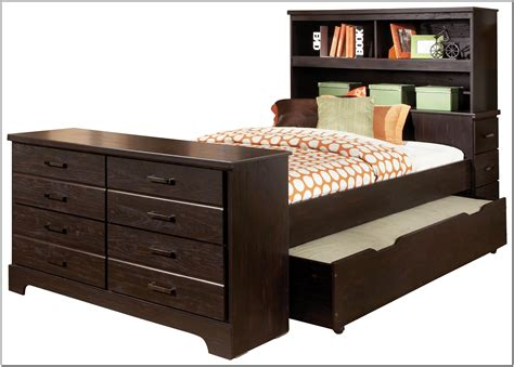 full size trundle bed with storage bed with trundle and storage page home design 20509