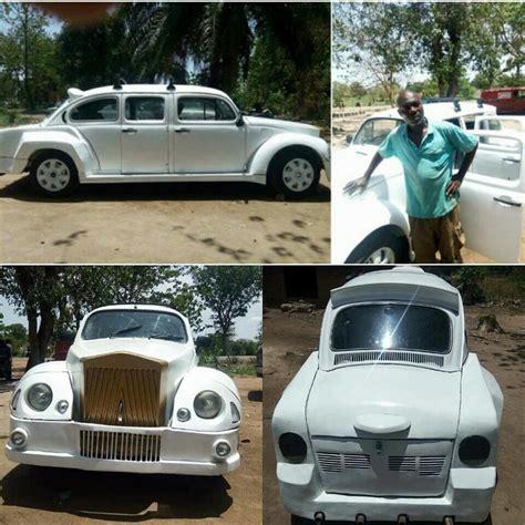 Rolls Royce Volkswagen by Talented From Benue Remodels A Volkswagen