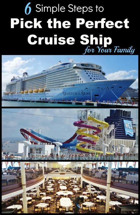 how to pick the cruise ship for your family