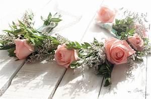 Couronne De Fleurs Mariée : diy couronne de fleurs mariage joliment fleurie la mari e sous les etoiles ~ Farleysfitness.com Idées de Décoration
