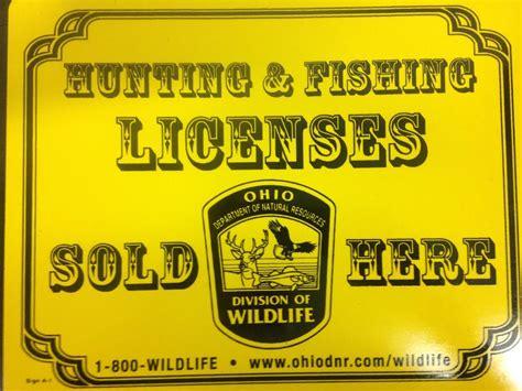 license fishing ohio fees much lamination