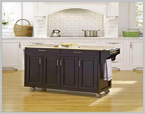 Kitchen Island With Seating And Wheels by Movable Kitchen Island With A Lot Of Storage Kitchen