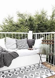 ideen fur einen kleinen balkon wohninspirationencom With schöne balkon ideen