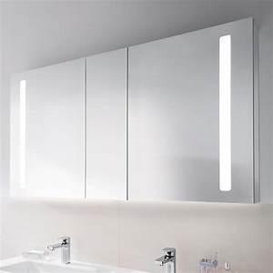 Spiegelschrank Bad Led : villeroy boch my view 14 spiegelschrank mit led beleuchtung dimmbar a4241300 reuter ~ Frokenaadalensverden.com Haus und Dekorationen