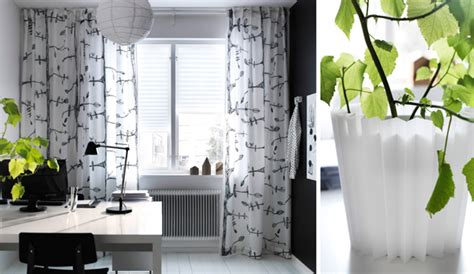 ikea curtains inspiration with soft touch home design