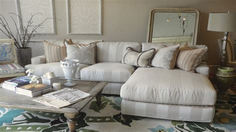 Country Furniture Sofa by Striped Sofas Living Room Furniture Beach House Sectional