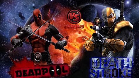 Задротский проект (deathstroke Vs Deadpool)