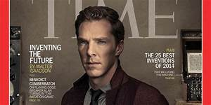 Benedict Cumberbatch Covers Time's 'Genius Issue'