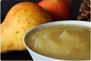 Compote Poire Pomme : compote de poire miel et vanille chefnini ~ Nature-et-papiers.com Idées de Décoration