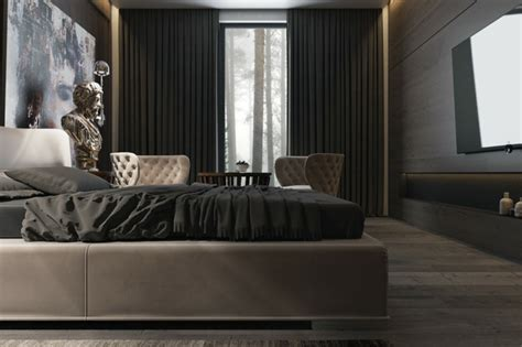 Schlafzimmer Schwarze Wände by Schlafzimmer Schwarz 31 Beispiele Dass Schwarze